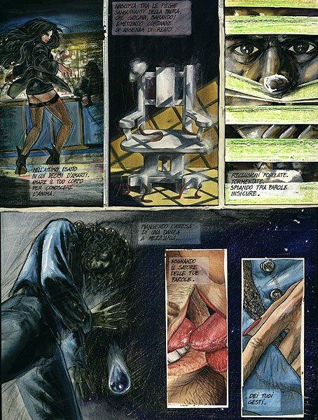 jerry Magni comic page 1995