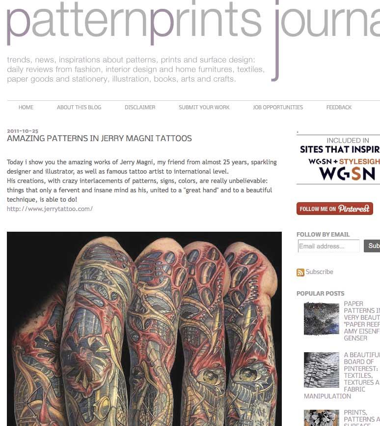 Patternsprintjournal.it October 2011
